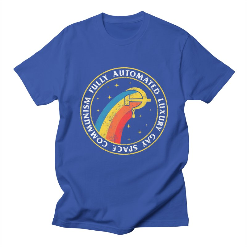 Fully Automated Luxury Gay Space Communism Men's T-Shirt by Yipptee