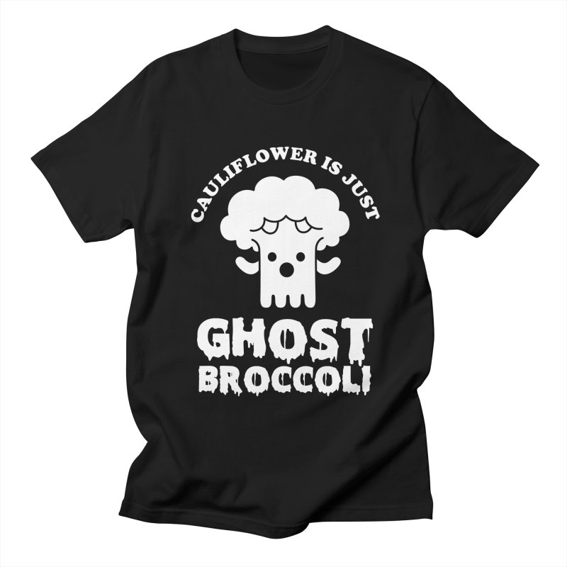 Cauliflower is just Ghost Brocolli Men's T-Shirt by Yipptee