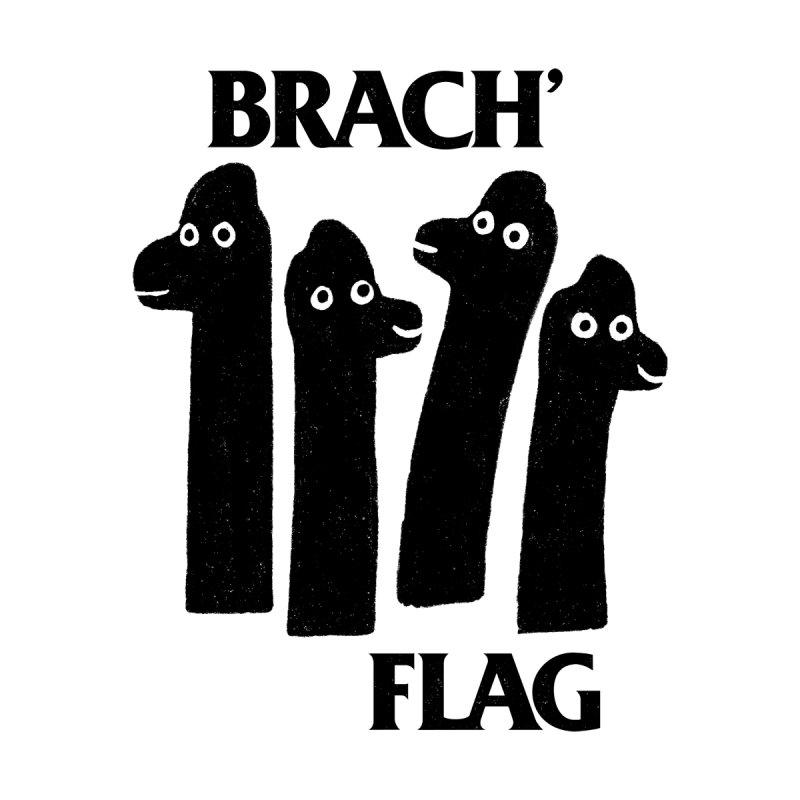 Brach Flag Men's T-Shirt by Yipptee