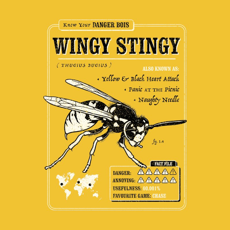 Wingy Stingy (Danger Bois) by Yipptee