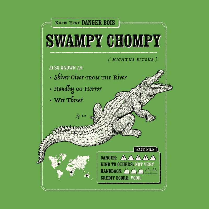 Swampy Chompy (Danger Bois) by Yipptee