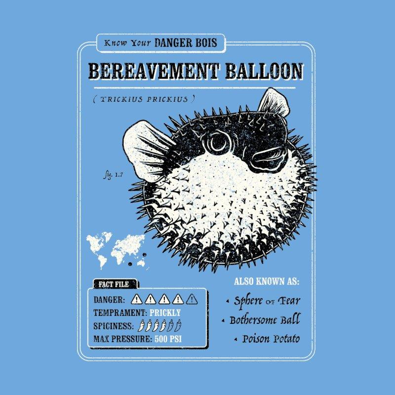 Bereavement Balloon (Danger Bois) Men's T-Shirt by Yipptee