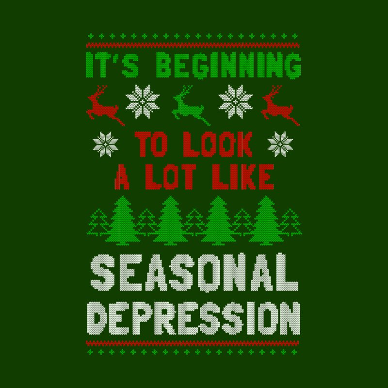 It's Beginning To Look A Lot Like Seasonal Depression Men's T-Shirt by Yipptee