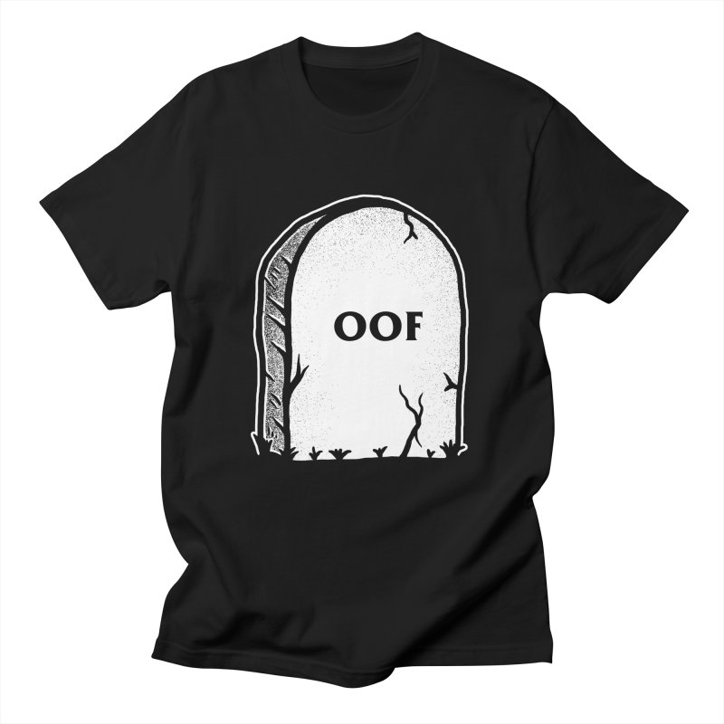 Oof Gravestone Men's T-Shirt by Yipptee
