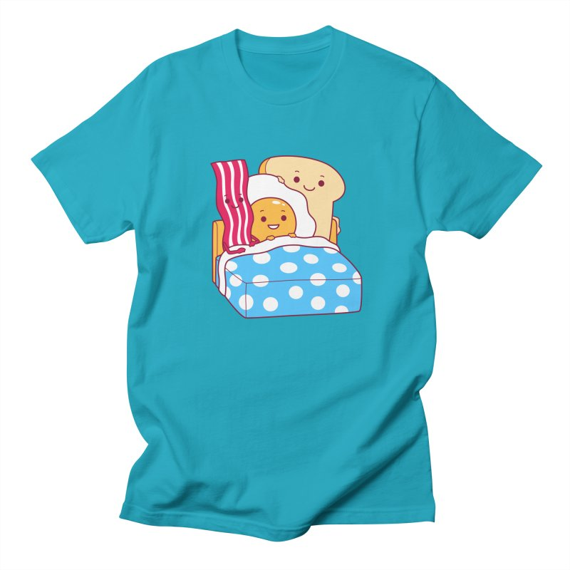 Breakfast In Bed Men's T-Shirt by Yipptee