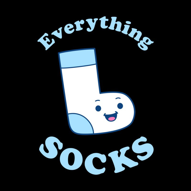 Everything Socks Men's T-Shirt by Yipptee