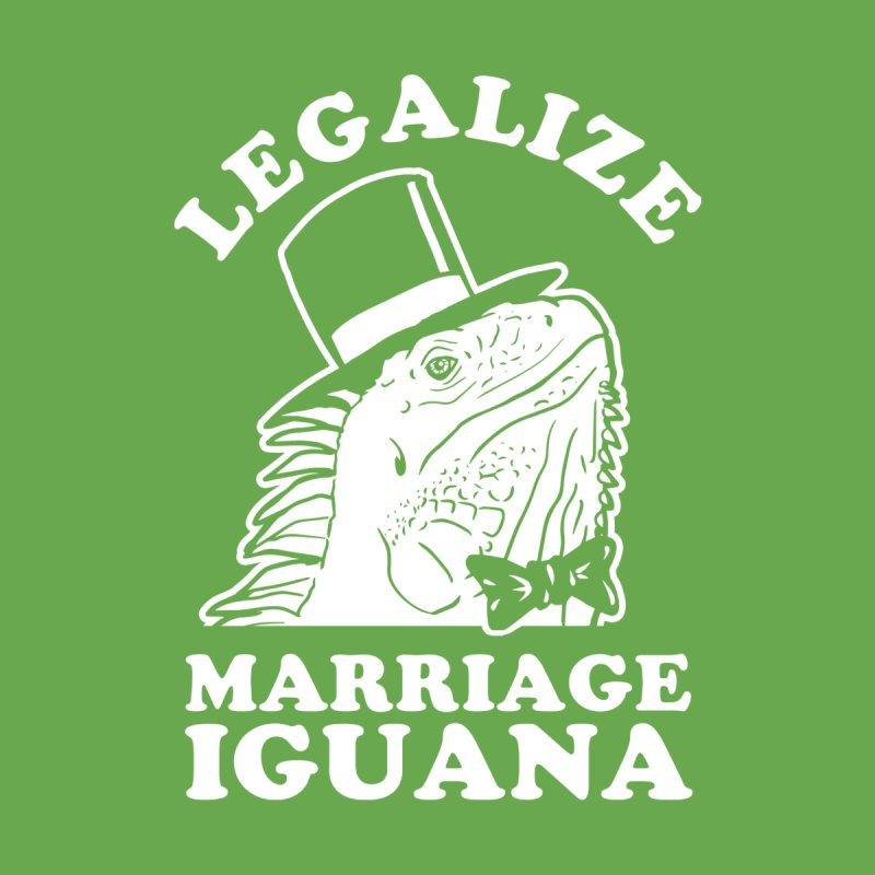 Legalize Marriage Iguana by Yipptee