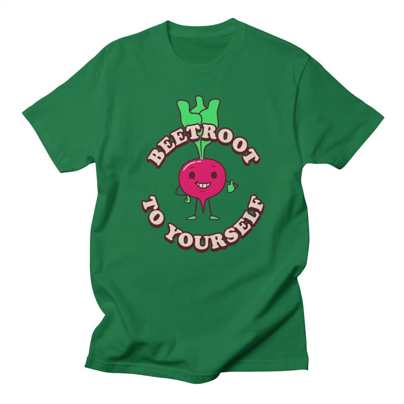 Beetroot To Yourself Men's T-Shirt by Yipptee