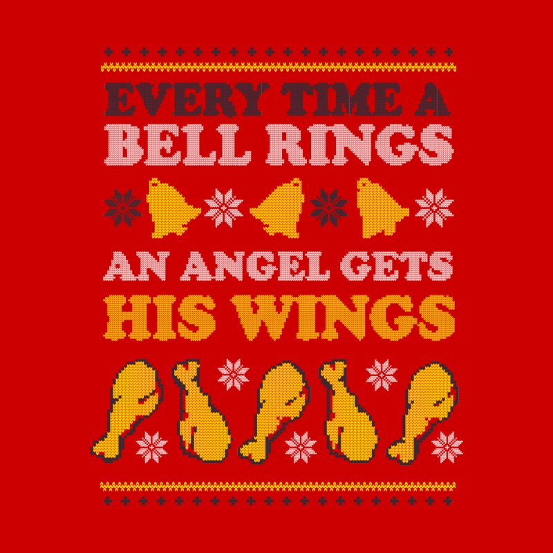 Every Time A Bell Rings An Angel Gets His Wings Men's T-Shirt by Yipptee