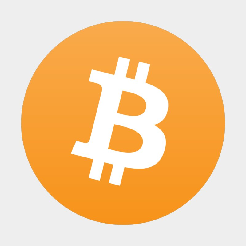 Need I Say More? (Simple Bitcoin Logo) by The YMB Bitcoin Galore