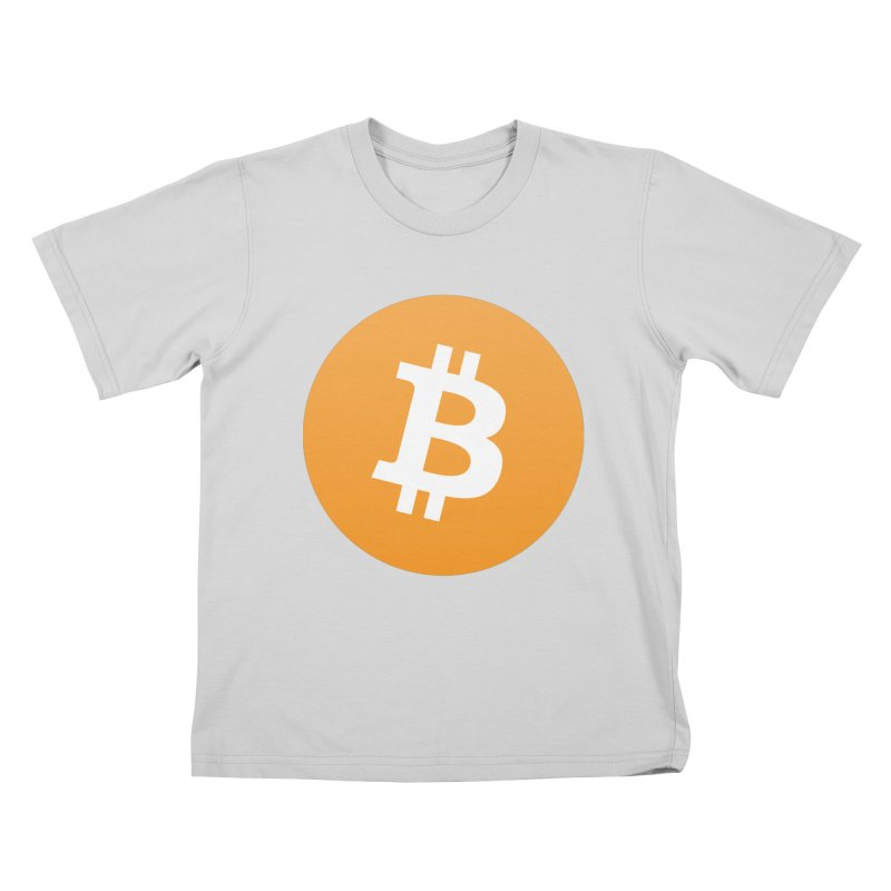 Need I Say More? (Simple Bitcoin Logo) Kids T-Shirt by The YMB Bitcoin Galore