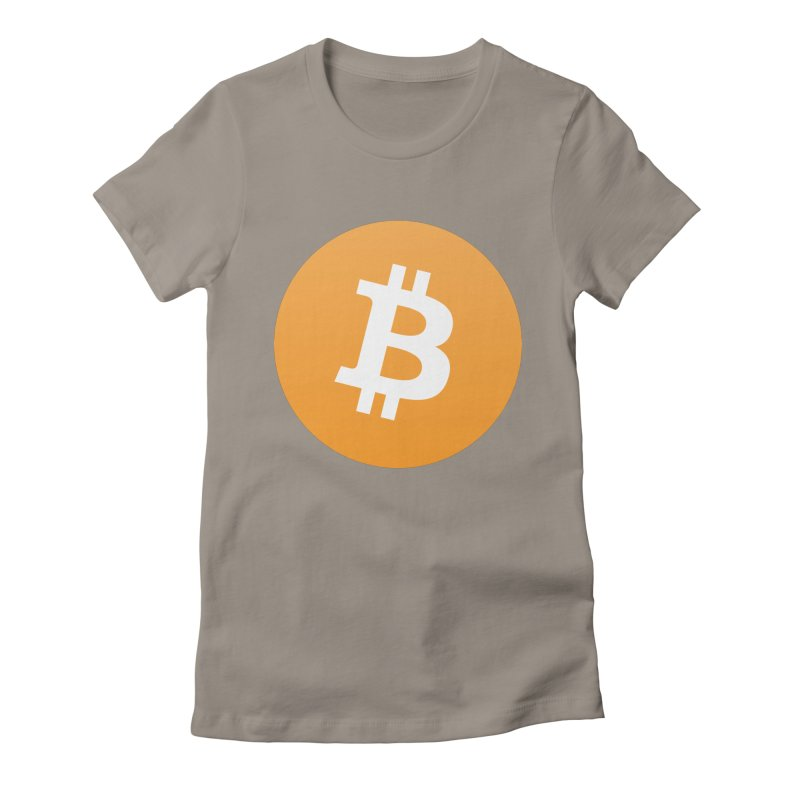 Need I Say More? (Simple Bitcoin Logo) Women's Fitted T-Shirt by The YMB Bitcoin Galore
