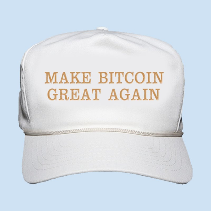 Make Bitcoin Great Again by The YMB Bitcoin Galore