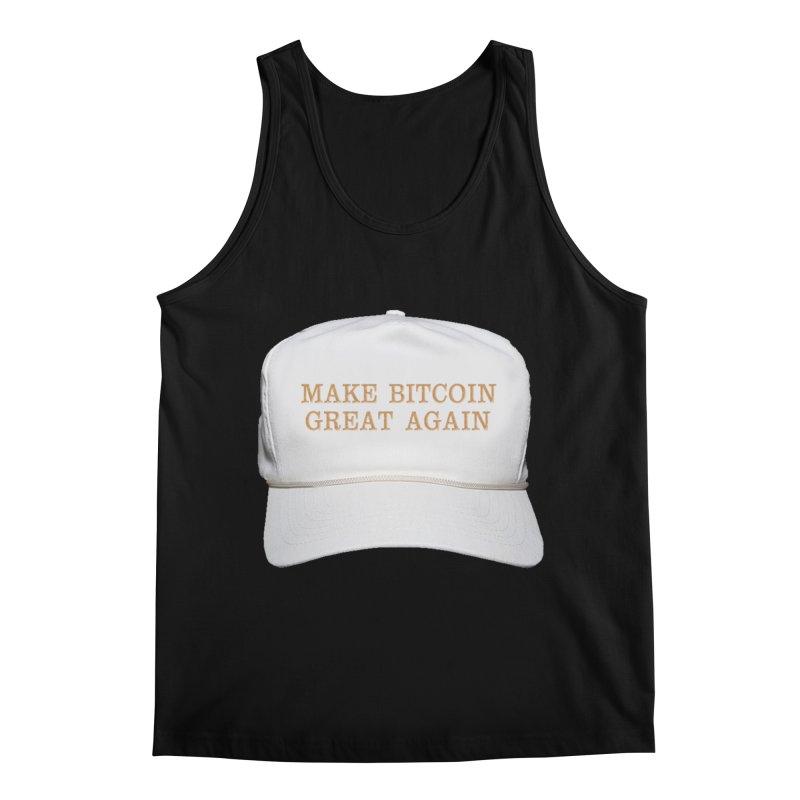Make Bitcoin Great Again Men's Tank by The YMB Bitcoin Galore