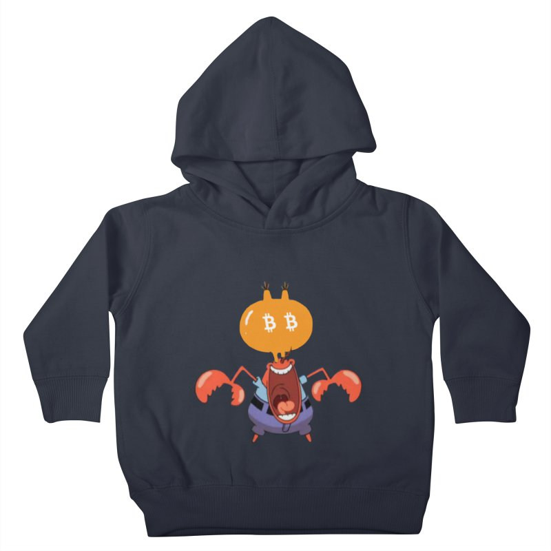 I Smell Bitcoin! Kids Toddler Pullover Hoody by The YMB Bitcoin Galore