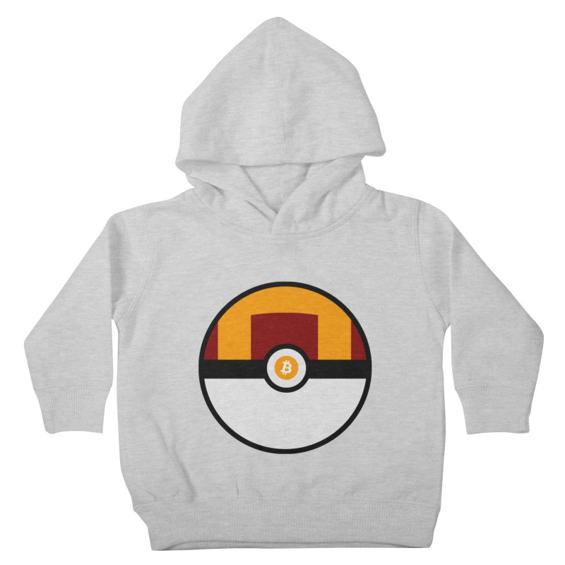 Bitcoin Ultra Ball Kids Toddler Pullover Hoody by The YMB Bitcoin Galore