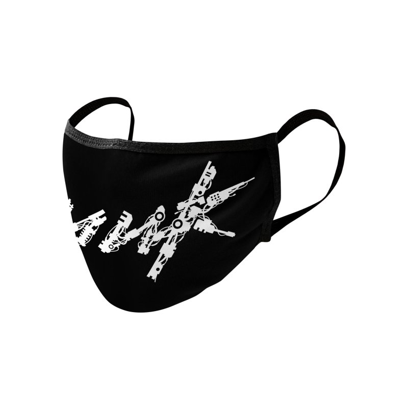 Cyberpunk - White Accessories Face Mask by ym graphix's Artist Shop