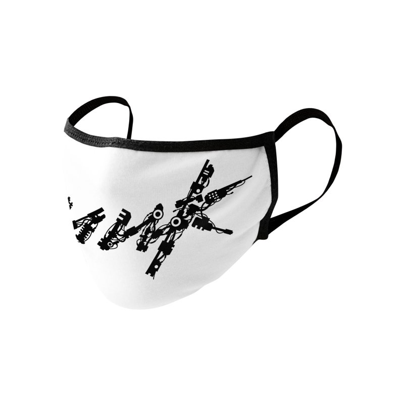 Cyberpunk - Black Accessories Face Mask by ym graphix's Artist Shop