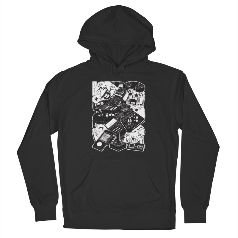 Retrogaming Men's Pullover Hoody by ym graphix's Artist Shop