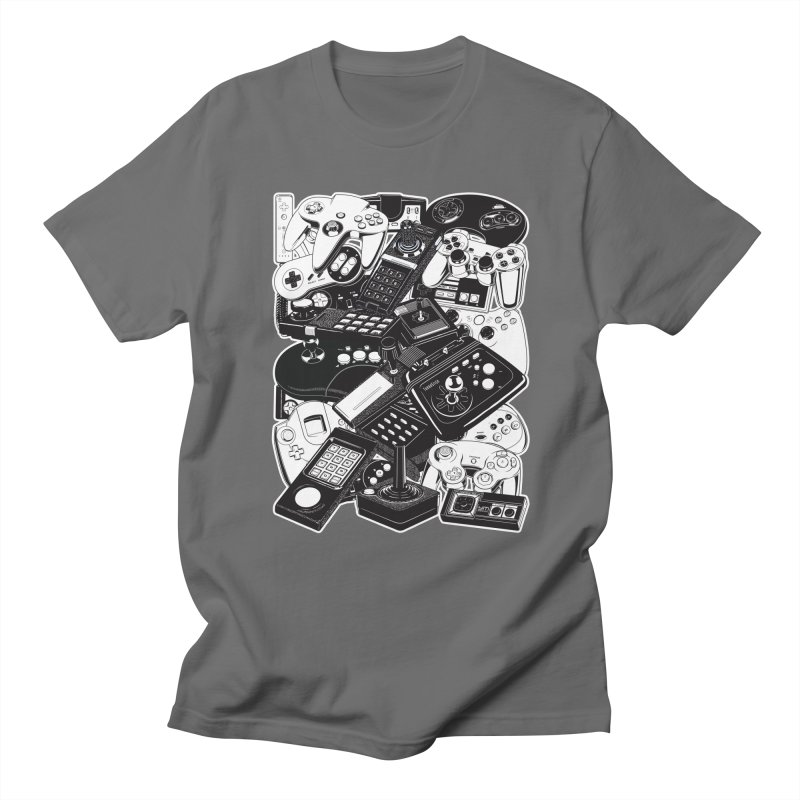 Retrogaming Men's T-Shirt by ym graphix's Artist Shop