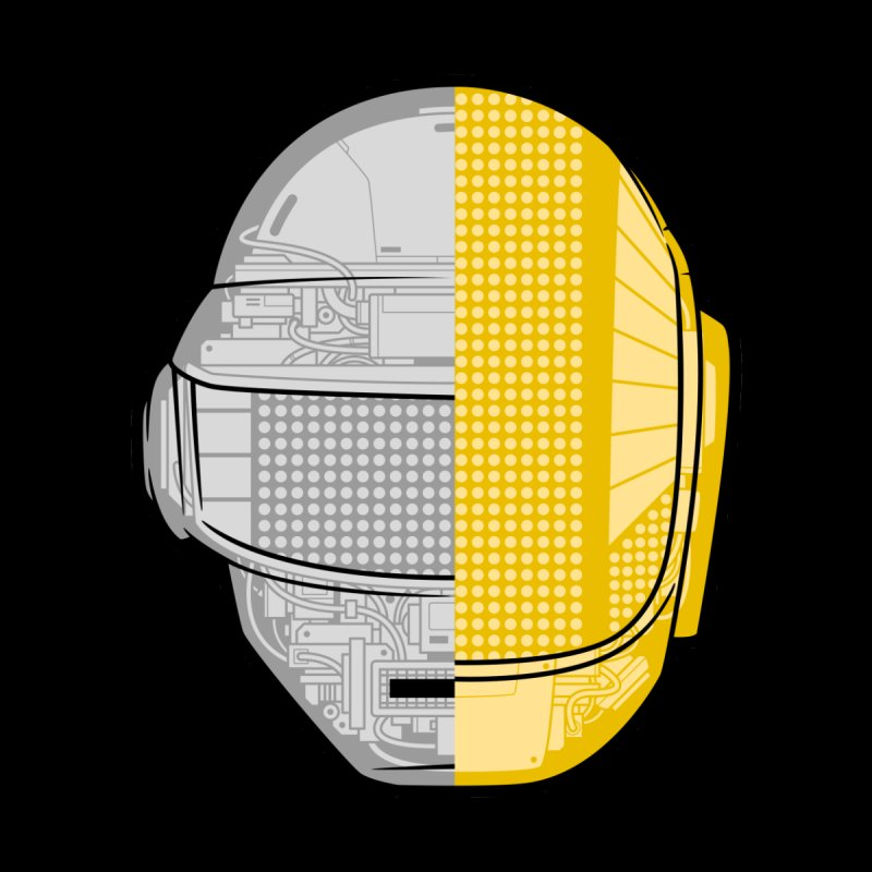 Daft Punk Anatomy Accessories Mug by ym graphix's Artist Shop