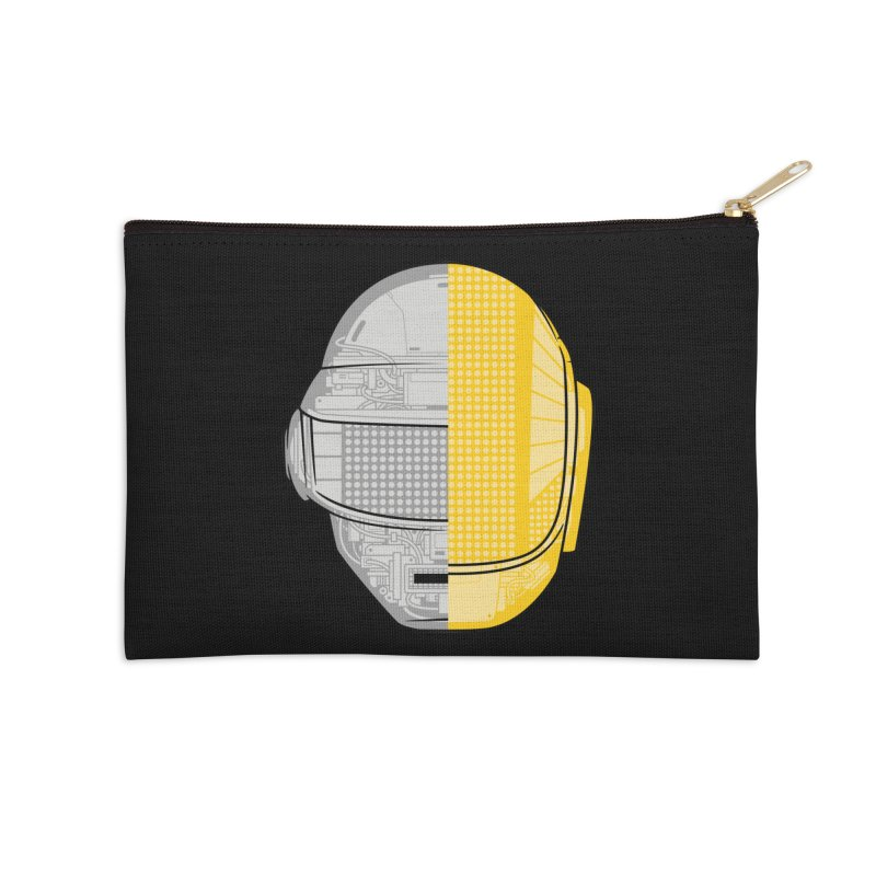 Daft Punk Anatomy Accessories Zip Pouch by ym graphix's Artist Shop