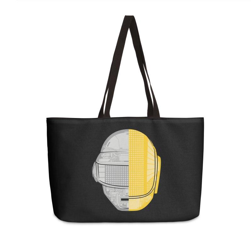 Daft Punk Anatomy Accessories Weekender Bag Bag by ym graphix's Artist Shop