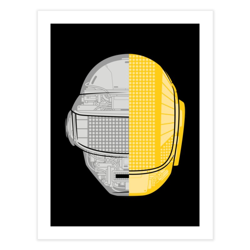 Daft Punk Anatomy Home Fine Art Print by ym graphix's Artist Shop