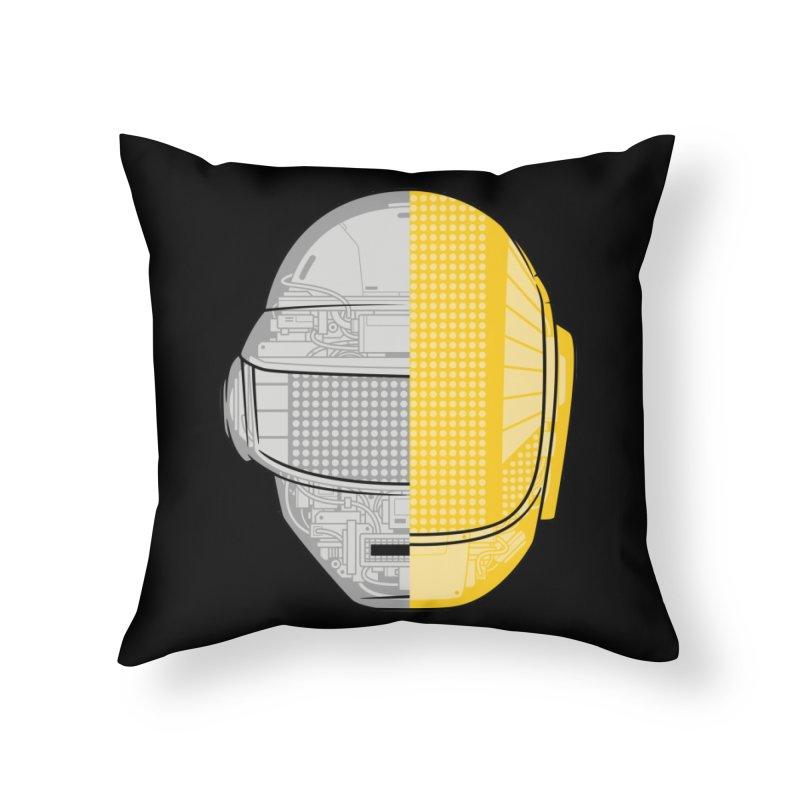 Daft Punk Anatomy Home Throw Pillow by ym graphix's Artist Shop