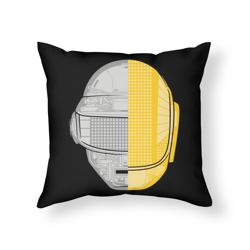 Daft Punk Anatomy Home Throw Pillow by ym graphix's Artist Shop
