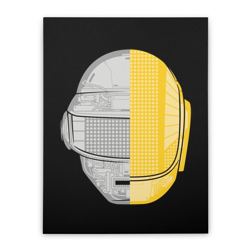 Daft Punk Anatomy Home Stretched Canvas by ym graphix's Artist Shop