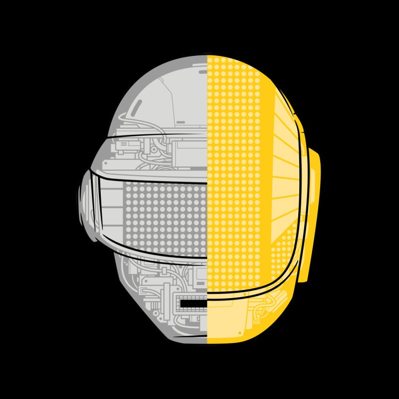 Daft Punk Anatomy None  by ym graphix's Artist Shop