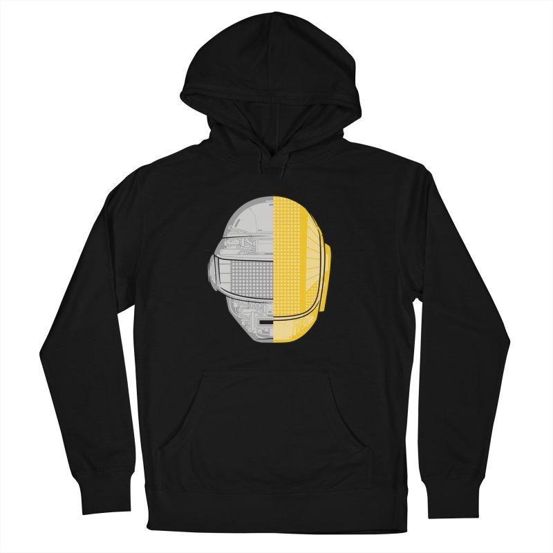 Daft Punk Anatomy Men's Pullover Hoody by ym graphix's Artist Shop