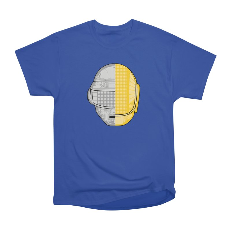 Daft Punk Anatomy Men's Heavyweight T-Shirt by ym graphix's Artist Shop