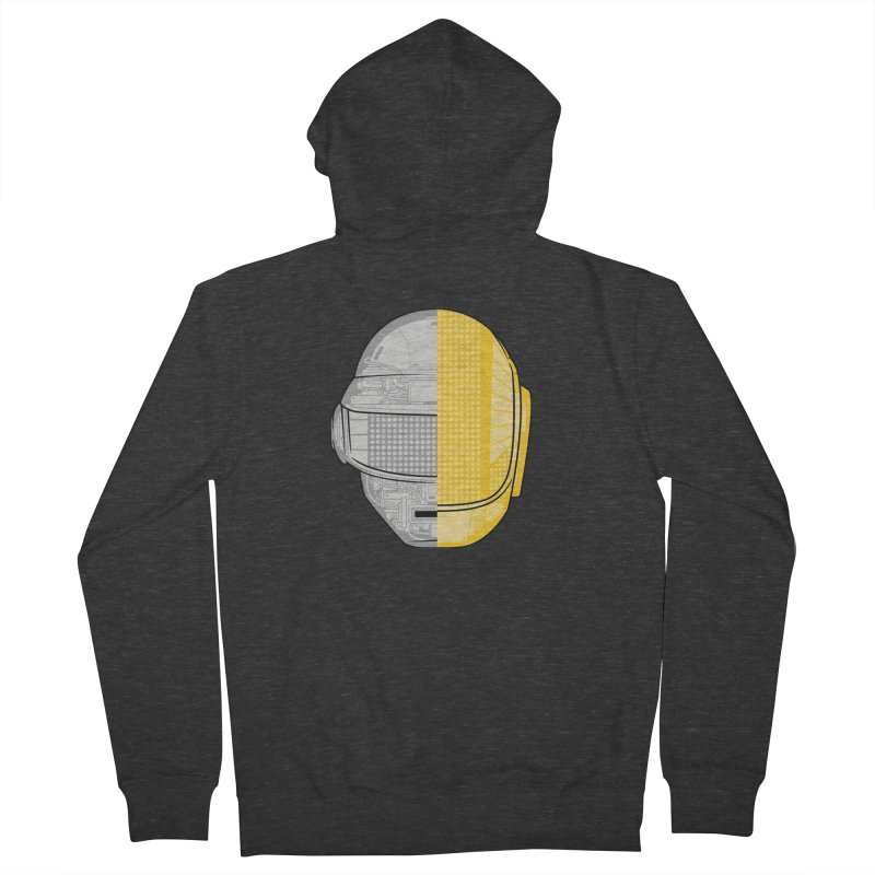 Daft Punk Anatomy Men's French Terry Zip-Up Hoody by ym graphix's Artist Shop