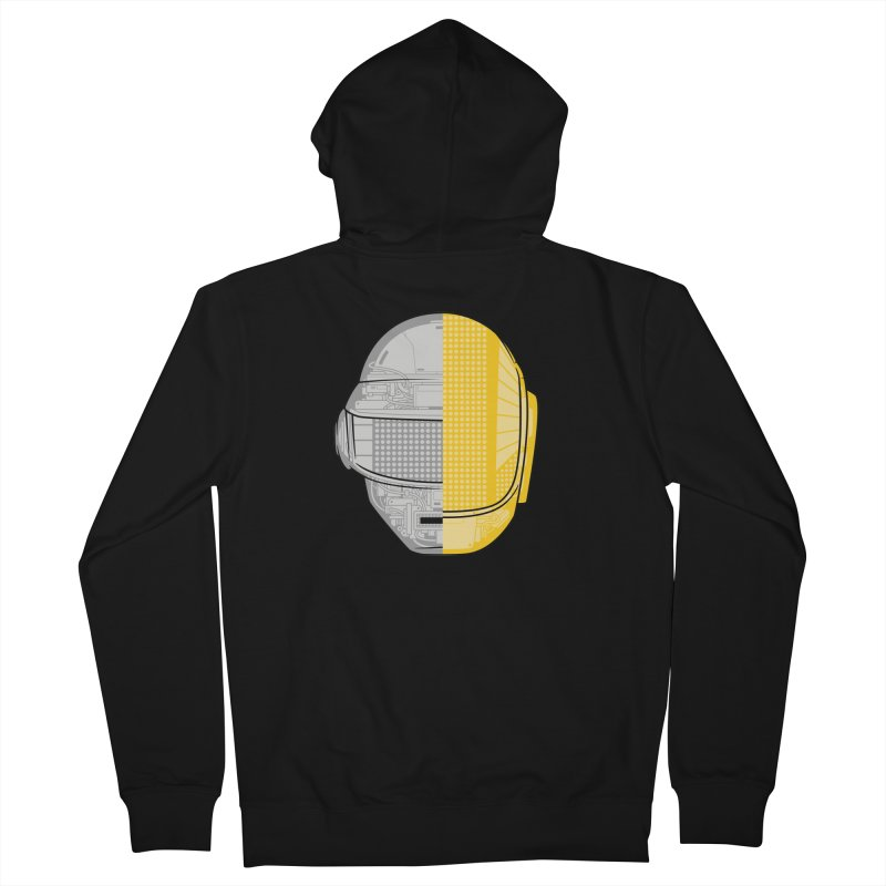 Daft Punk Anatomy Men's Zip-Up Hoody by ym graphix's Artist Shop