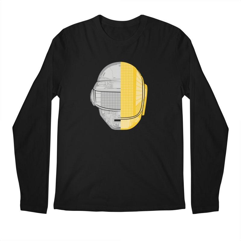 Daft Punk Anatomy Men's Longsleeve T-Shirt by ym graphix's Artist Shop
