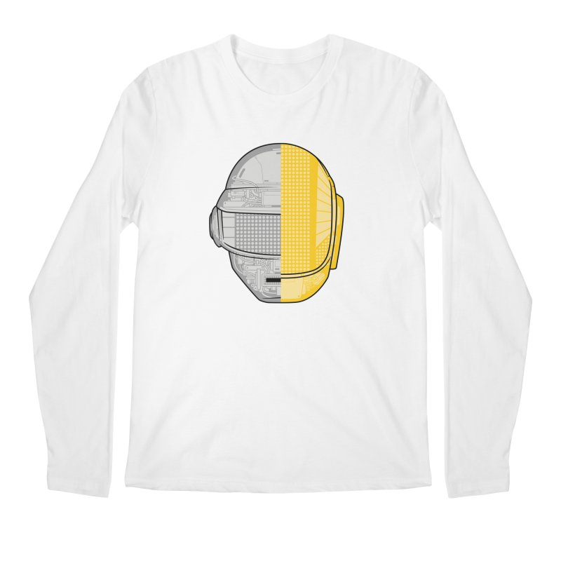 Daft Punk Anatomy Men's Regular Longsleeve T-Shirt by ym graphix's Artist Shop