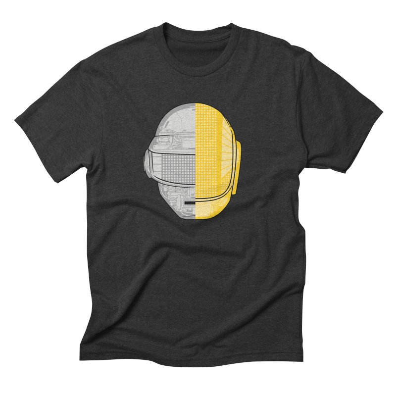 Daft Punk Anatomy Men's Triblend T-Shirt by ym graphix's Artist Shop
