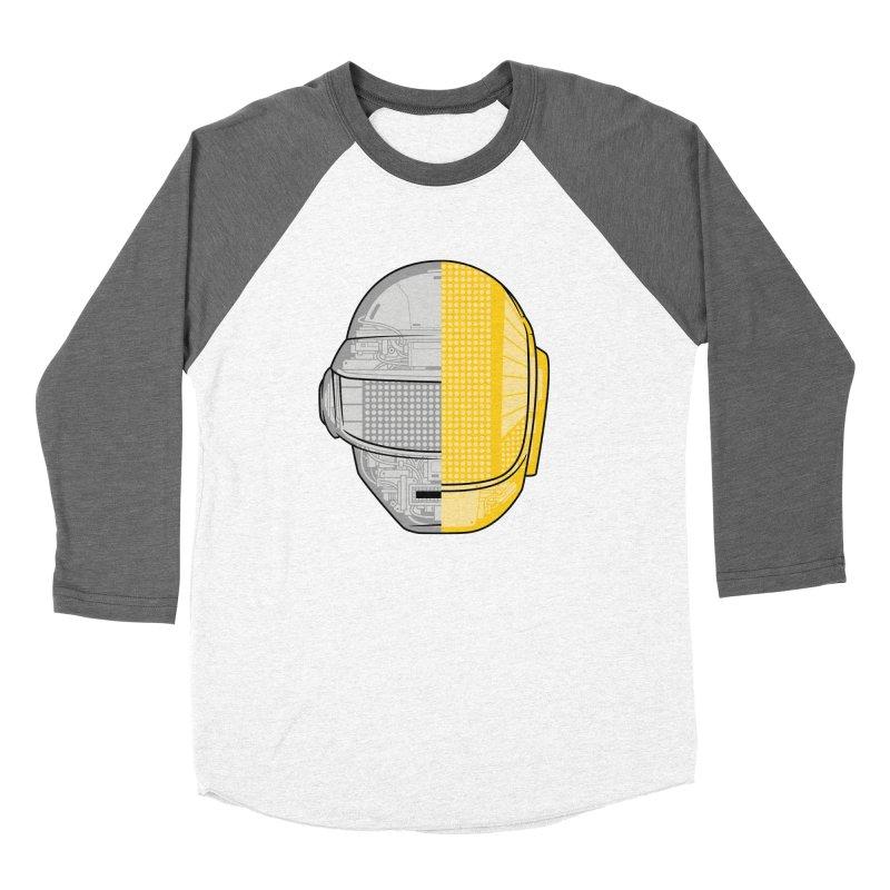 Daft Punk Anatomy Women's Baseball Triblend Longsleeve T-Shirt by ym graphix's Artist Shop