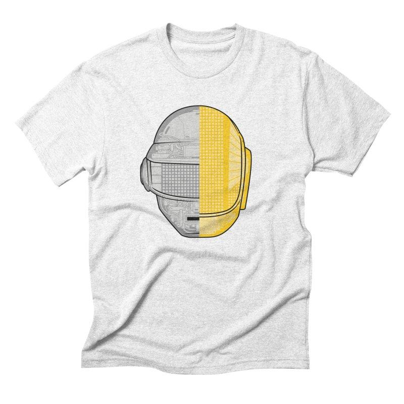 Daft Punk Anatomy Men's Triblend T-shirt by ym graphix's Artist Shop