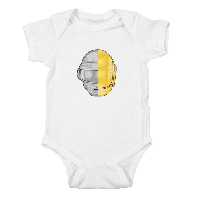 Daft Punk Anatomy Kids Baby Bodysuit by ym graphix's Artist Shop