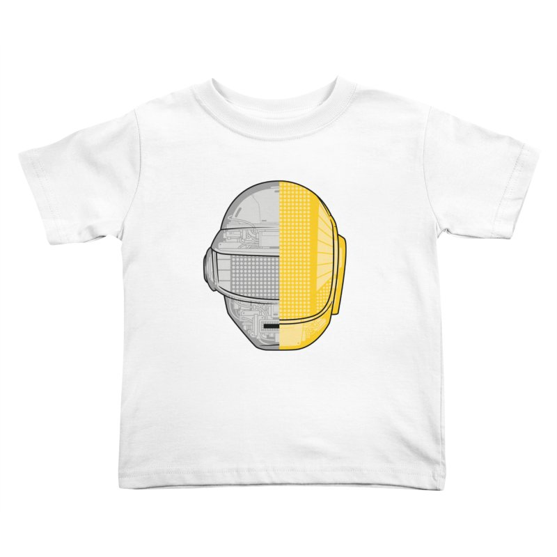 Daft Punk Anatomy Kids Toddler T-Shirt by ym graphix's Artist Shop