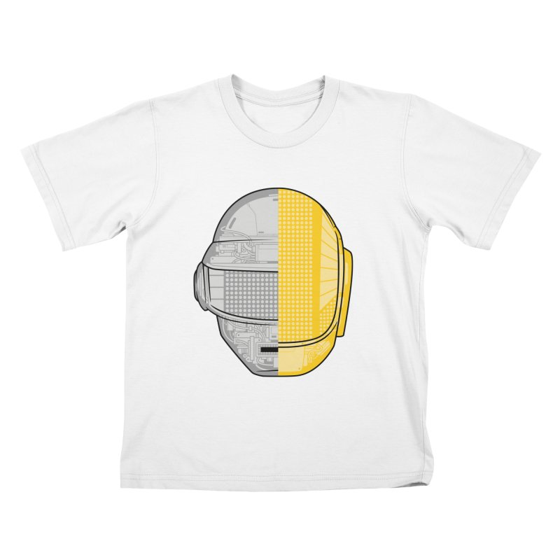 Daft Punk Anatomy Kids T-Shirt by ym graphix's Artist Shop