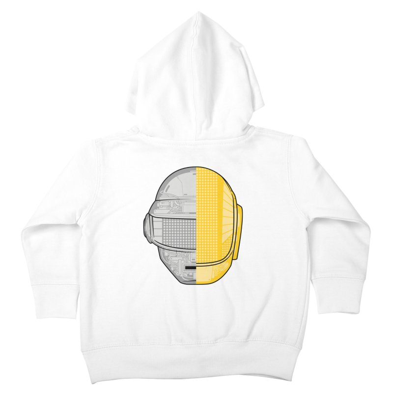 Daft Punk Anatomy Kids Toddler Zip-Up Hoody by ym graphix's Artist Shop