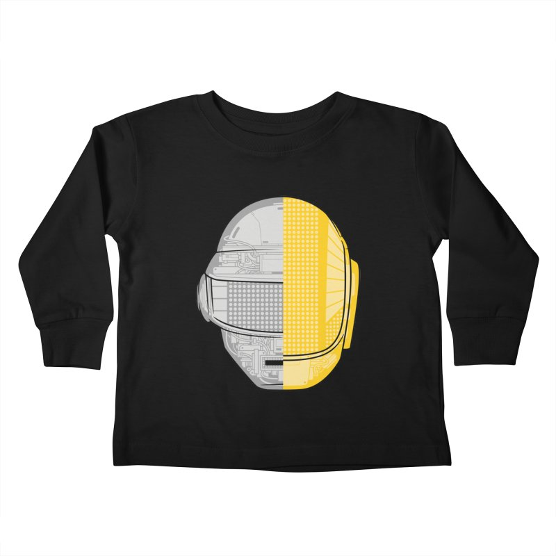 Daft Punk Anatomy Kids Toddler Longsleeve T-Shirt by ym graphix's Artist Shop
