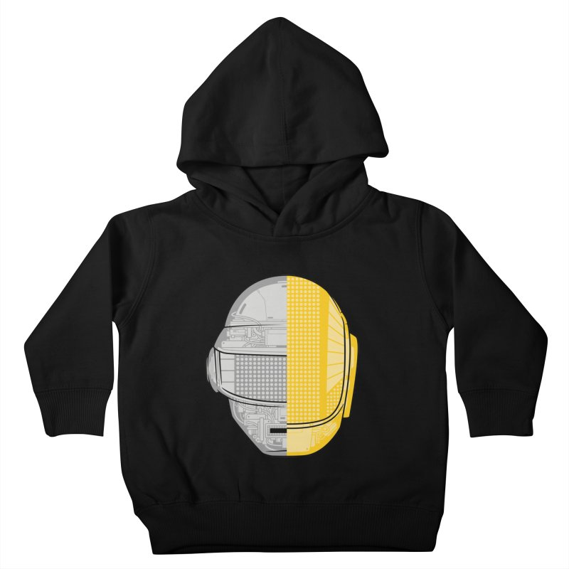 Daft Punk Anatomy Kids Toddler Pullover Hoody by ym graphix's Artist Shop