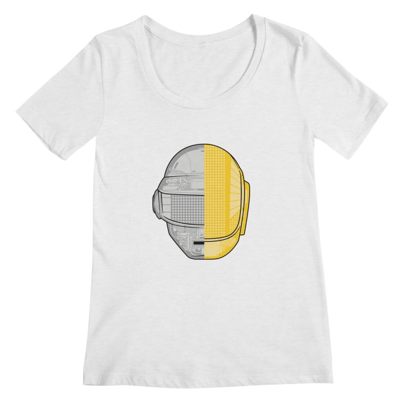 Daft Punk Anatomy Women's Regular Scoop Neck by ym graphix's Artist Shop