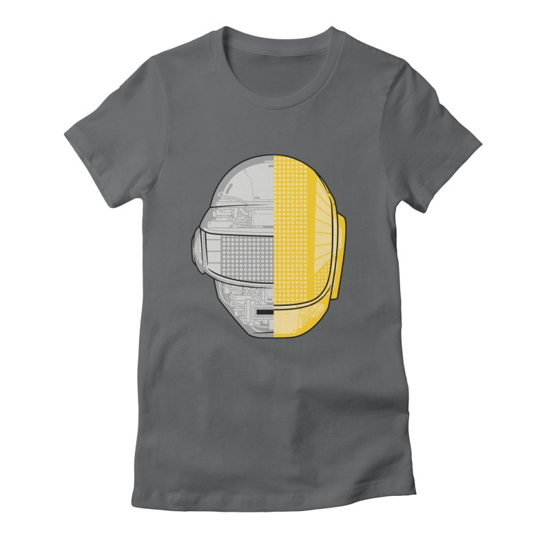 Daft Punk Anatomy Women's Fitted T-Shirt by ym graphix's Artist Shop