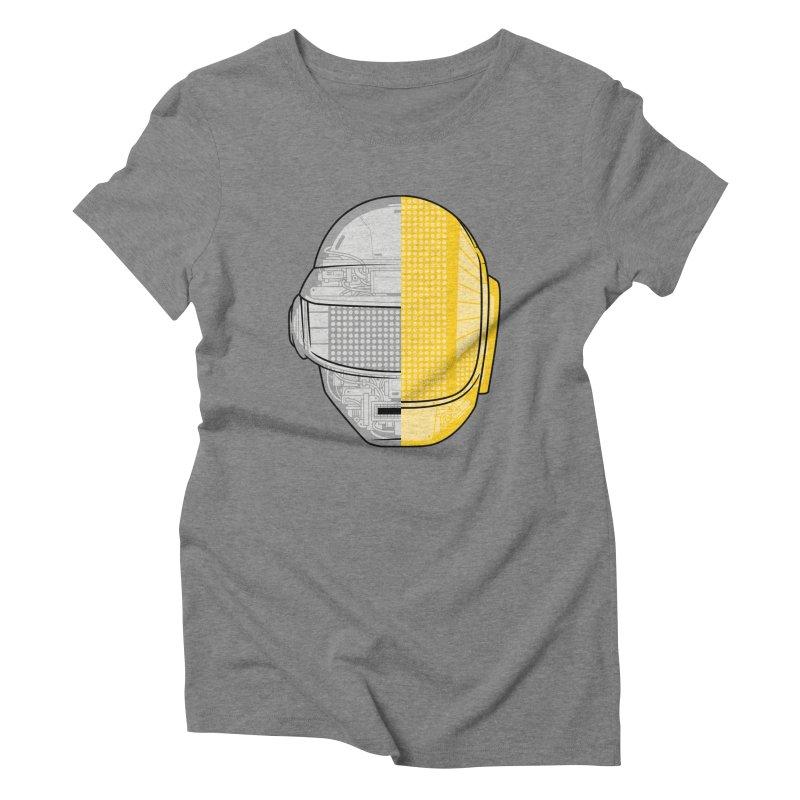 Daft Punk Anatomy Women's Triblend T-Shirt by ym graphix's Artist Shop